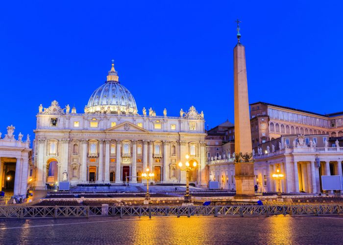 St. Peter's Basilica and St. Peter's Square, Vatican City