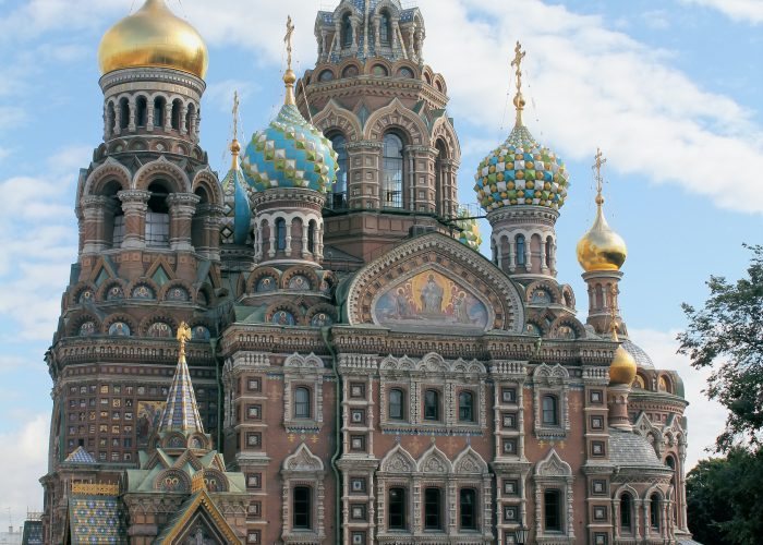 Exterior of the Church of the Savior on Spilled Blood, Saint Petersburg