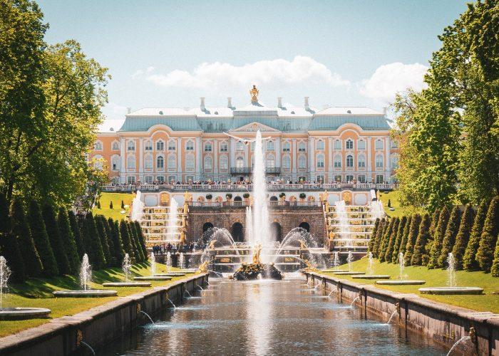 Peterhof, Saint Petersburg, Russia